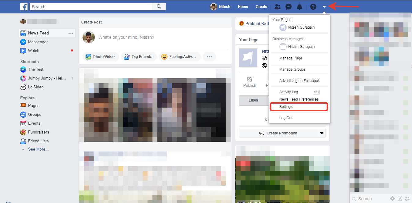 Enable Two Factor Authentication in Facebook